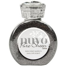 Nuvo Pure Sheen Glitter Steel Grey (NPSG 722)