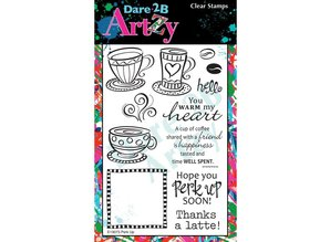 Dare 2B Artzy Perk Up Clear Stamps (13073)