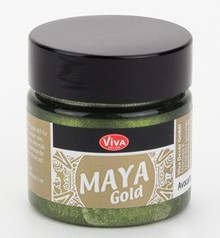 Viva Decor Maya Gold Avocado (706)