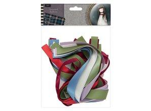 Gorjuss Santoro Tweed Assorted Ribbon (20pcs) (GOR 367501)