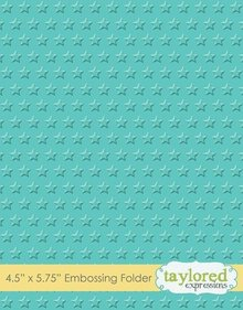 Taylored Expressions Lots Of Stars Embossing Folder (TEEF44)