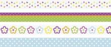 Heyda Deco Tape Papier Bloemen (203584381)