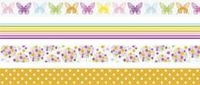 Heyda Deco Tape Papier Vlinders (203584383)