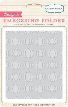 Carta Bella Pumpkins 12,7x14,9 cm Embossing Folder (CBTT44035)