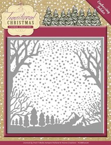 Yvonne Creations Traditional Christmas Embossing Folder (YCEMB10007)