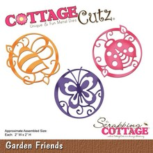 Scrapping Cottage CottageCutz Garden Friends (CC-140)