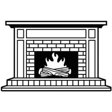 Darice Embossing Essentials Fireplace (1219-406)