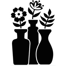 Darice Embossing Essentials Bud Vase Trio (1219-415)