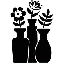 Darice Embossing Essentials Bud Vase Trio (1219-415)