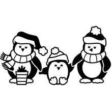 Darice Embossing Essentials Penguins (1219-419)
