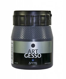 Schjerning Art Gesso Zwart 250 ml (325440025096)