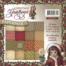 Amy Design Christmas Greetings 6x6 Inch Paper Pack (ADPP10014)