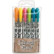 Ranger Tim Holtz Distress Crayon Set 1 (DBK47902)