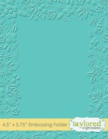 Taylored Expressions Garden Party Embossing Folder (TEEF48)