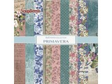ScrapBerry's Primavera 6x6 Inch Paper Pad 190 gsm One sided (12 Sheets Per Pack) (SCB220609009)