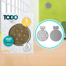 TODO Die Template Set Timeless Bauble (370366)