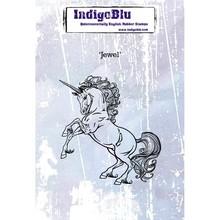IndigoBlu Jewel A6 Rubber Stamp (IND0261)