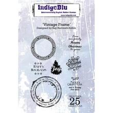 IndigoBlu Vintage Frame A6 Rubber Stamp (IND0263)