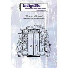 IndigoBlu Country House A6 Rubber Stamp (IND0269)
