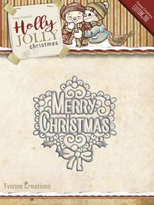 Yvonne Creations Holly Jolly Christmas Merry Christmas (YCD10075)