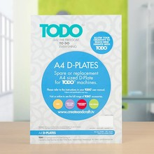 TODO Multi-Functional Crafting Machine A4 D-Plates (21003)