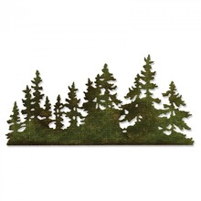 Sizzix Thinlits Alterations Tree Line (661604)