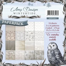 Amy Design Wintertide 6x6 Inch Paper Pack (ADPP10015)