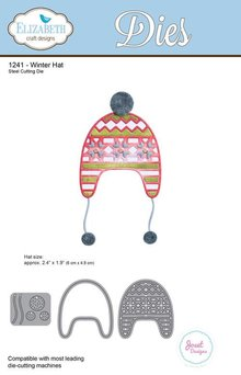Elizabeth Craft Design Winter Hat Wafer Thin Metal Die (1241)