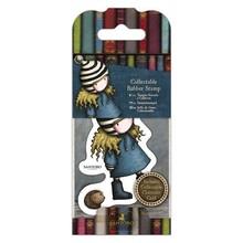 Gorjuss The Friendly Hedgehog Rubber Stamp (GOR 907415)