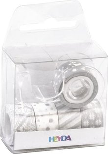 Heyda Deco Tape Silver (203584581)