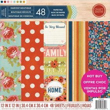 Craft Smith Harvest Boutique 12x12 Inch Paper Pad (MPP0203)