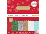 Craft Smith Holiday Glitter Solids 6x6 Inch Paper Pad (CIN035)