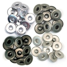We R Memory Keepers Wide Eyelets Cool Metal (41596-1)