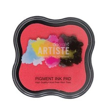 Docrafts Pigment Ink Pad - Pink (DOA 550107)