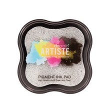 Docrafts Metallic Pigment Ink Pad - Metallic Silver (DOA 550111)