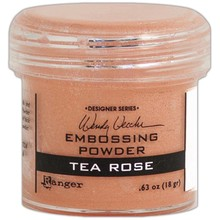 Ranger Embossing Powder Wendy Vecchi Tea Rose (WEP45748)