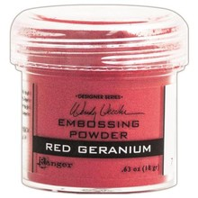 Ranger Embossing Powder Wendy Vecchi Red Geranium (WEP43911)