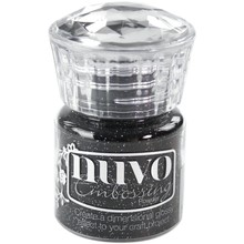 Nuvo Embossing Powder Glitter Noir (NEP 598)