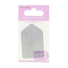 Dovecraft Die - Happy Birthday Tag (DCDIE068)