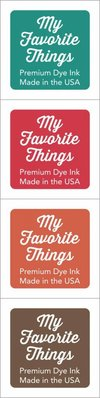 My Favorite Things Premium Dye Ink Cubes - Set 2 (ICUBE-02)