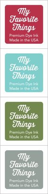 My Favorite Things Premium Dye Ink Cubes - Set 4 (ICUBE-04)