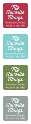My Favorite Things Premium Dye Ink Cubes - Set 4 (ICUBE-04)