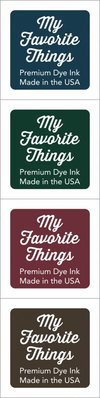 My Favorite Things Premium Dye Ink Cubes - Set 7 (ICUBE-07)