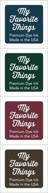 My Favorite Things Premium Dye Ink Cubes - Set 7 (ICUBE-07)