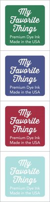 My Favorite Things Premium Dye Ink Cubes - Set 8 (ICUBE-08)