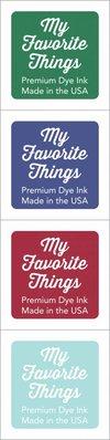 My Favorite Things Premium Dye Ink Cubes - Set 8 (ICUBE-08)
