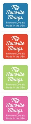 My Favorite Things Premium Dye Ink Cubes - Set 10 (ICUBE-10)