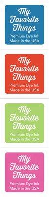 My Favorite Things Premium Dye Ink Cubes - Set 10 (ICUBE-10)
