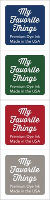 My Favorite Things Premium Dye Ink Cubes - Set 11 (ICUBE-11)