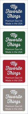 My Favorite Things Premium Dye Ink Cubes - Set 11 (ICUBE-11)
